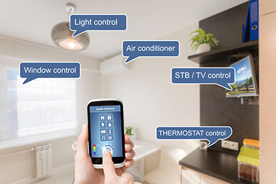 Feature of home automation
