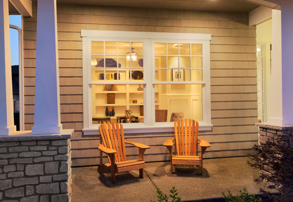 Exterior Accent Lighting on a porch