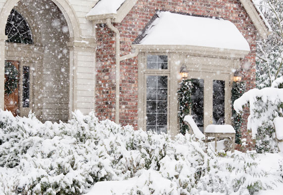 A Home Generator provides power during a winter storm