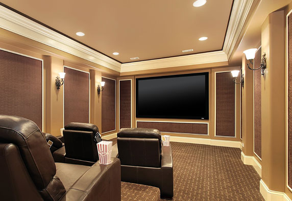 Home Theater straight on