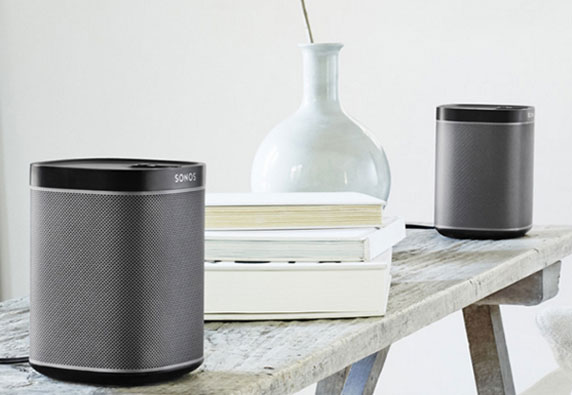 Sonos fashionable wireless speakers
