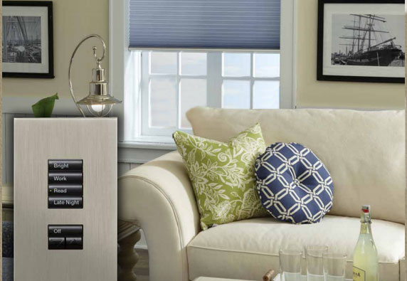 Automated Window Shade management from your sofa