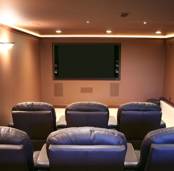 Home Theater Installation Tv Mounts Speakers Subwoofers