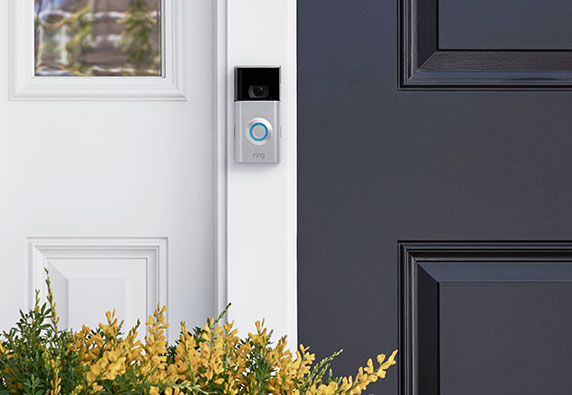 Ring home security video doorbell