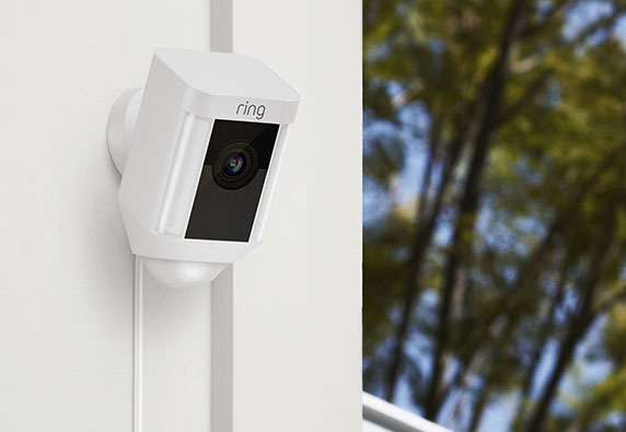 Ring home security video camera